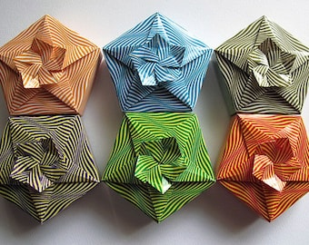 Origami Cherry Blossom Boxes