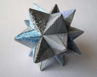 Origami Ball w/recycled paper