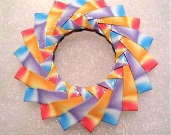 Origami Brooch