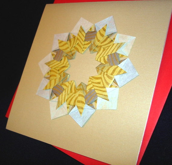 Holiday Origami Card