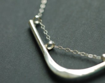harmony --- sterling silver necklace - Free US shipping