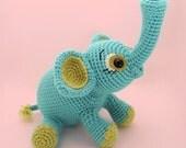 PATTERN - Elefoof Crochet Pattern Amigurumi PDF