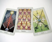 RESERVED FOR SAH527 Vintage Tarot Cards /// Aleister Crowley Thoth Deck