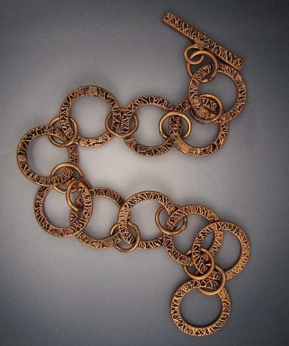 Copper Links Bracelet