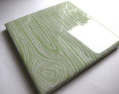 Faux Bois Honeydew Tile Coaster