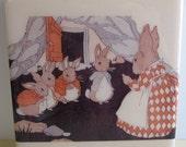 Peter Rabbit Tile Coaster