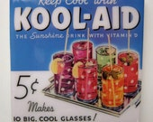 Kool-Aid Tile Coaster