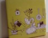 Suzy Homemaker Tile Coaster