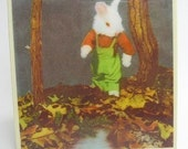 Bunny Stroll Tile Coaster