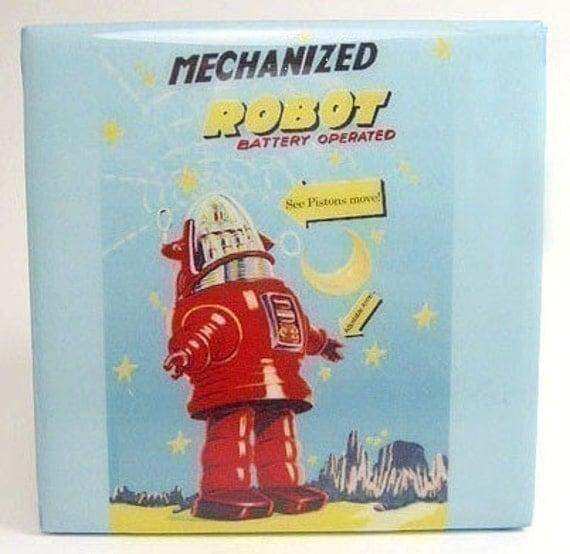 Mechanized Robot Tile Coaster