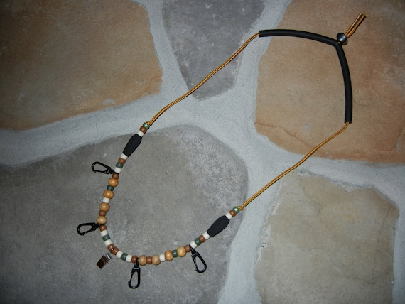 Handmade Pro Style Fly Fishing Lanyard Necklace Line Rod Vest Reel -- GREAT & UNIQUE GIFT --
