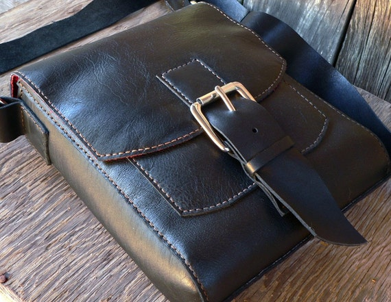 Field Bag V3 - free shipping  hand stitched leather bag  Feral Empire