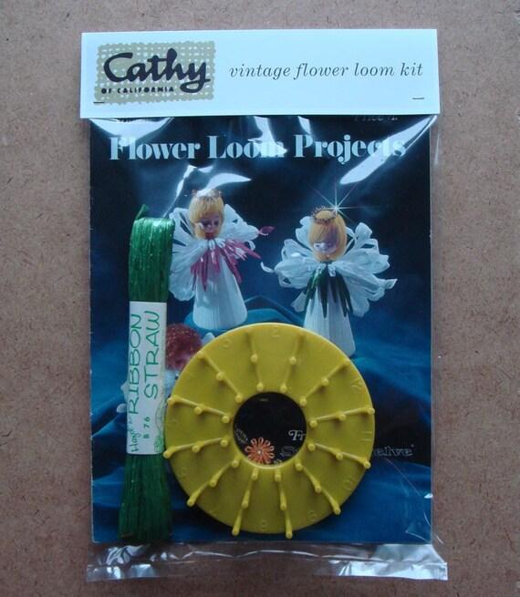 Vintage STUDIO TWELVE LOOM Flower Loom Projects INSTRUCTION