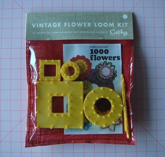 make yourself 1000 flowers vintage flower loom kit specially selected by cathy of california
