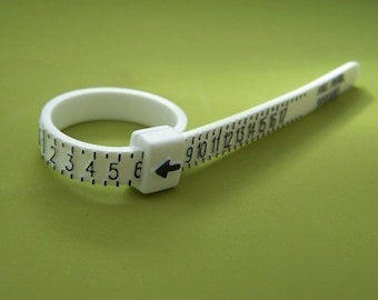 Ring Sizer - Plastic Ring Size Finder
