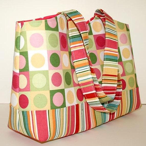 design your own shopping tote diaper bag book bag. Black Bedroom Furniture Sets. Home Design Ideas