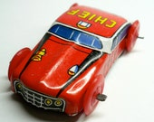 LITTLE TIN FIRE Chief 1960s Vintage Made in Japan