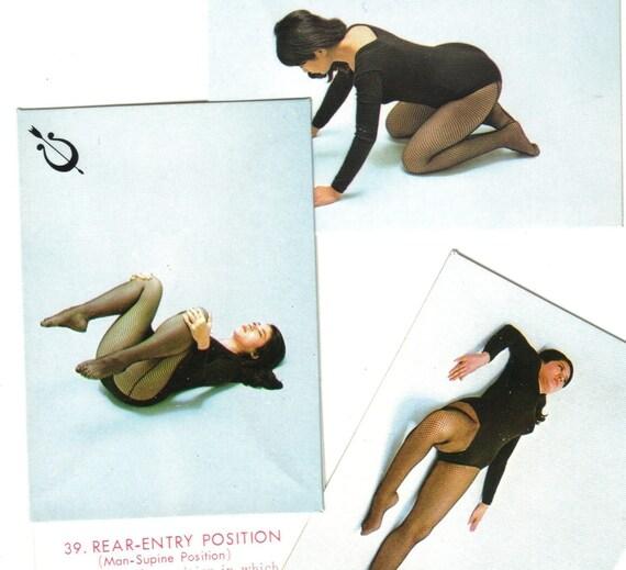 3pcs ASIAN SEX CARDS Art Positions Japan Last Chance