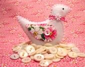 Happy Days Love Dove Bird Ornament