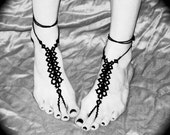 The Spine - Tatted Barefoot Sandals