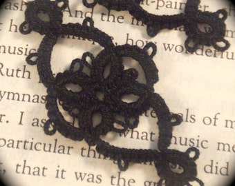 Tatted Lace Earrings - Victoriana