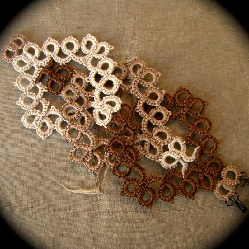 https://www.etsy.com/listing/79253658/tatted-lace-cuff-bracelet-interwoven?