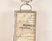 Munich Map Pendant
