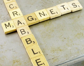 Scrabble Magnets - Choose your letters and quantity