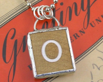 Letter O Pendant Necklace