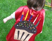 Birthday Cape Customized for Kids Children party favors