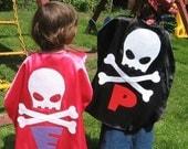 1 Pirate Costume Kids Superhero Cape Childrens Capes