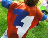 Superhero CAPE and MASK costume Childrens Princess Capes Personalized with superhero Masks