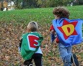 2 Kids Superhero Capes and 2 masks