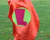 Superhero Cape  Custom Personalized  Princess Supergirl Superman Kids Capes