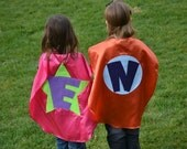 2 Childrens Capes Custom Superhero Kid Capes as seen on Good Morning America