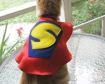 Superhero Pet Capes Custom Initial Dog Cat