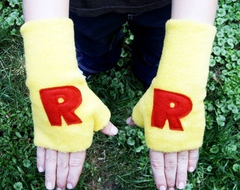 Superhero Gloves Wrist Gaurds Personalized You pick colors