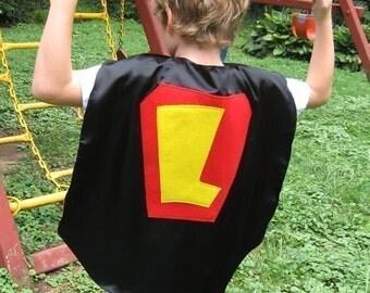 3 Superhero Costume Kid capes childrens cape Personalized Custom