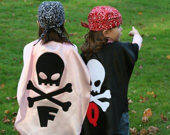 1 Pirate Kids Cape Costume Childrens Capes  as seen on GMA