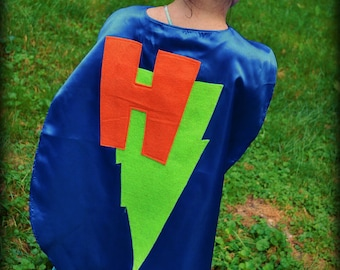 Superhero Cape and Mask  Childrens  Personalized Superhero Costume Kid Princess Capes with Masks party favors