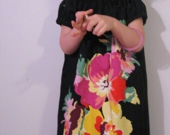 Cindy Flowers Dress with Headband   3T 4T