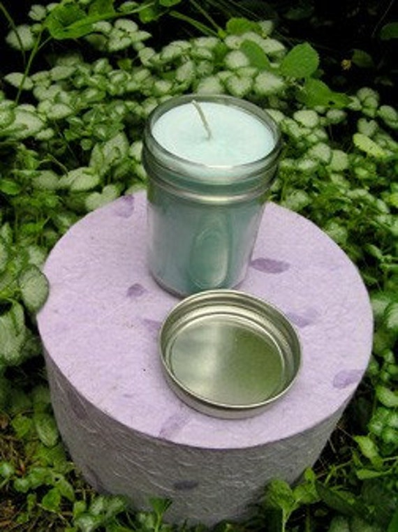 CUSTOM Soy Jar Candle 12 oz. Plus 2 Free Matching Soaps