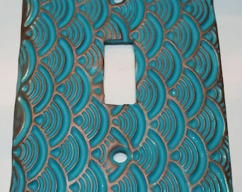 Polymer Clay Tutorial How to Make Your Own Light Switch Plate Covers -  Its so easy