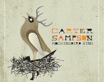 "Carter Sampson's 3rd Studio Album ""Mockingbird Sing"""