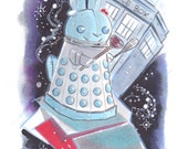 Adorable Dalek Bunny