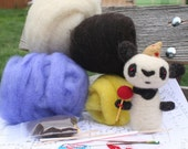 Needle Felting Kit- Magnificent Panda