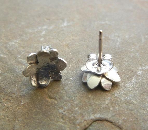 Petite Floral Stud Earrings