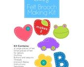 Felt Brooch Making Kit