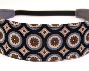 Reversible Fabric Headband  -  KALEIDESCOPE  Headbands For Women