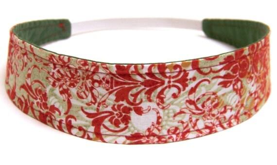 Reversible Fabric  Headband   -  DAPHNE  -  Headbands for Women